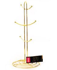 Подставка для кружек Gold Fissman 8928Кухонные аксессуары<br><br>