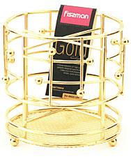 Подставка для кухонных инструментов Gold Fissman 8933Кухонные аксессуары<br><br>