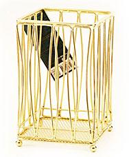 Подставка для кухонных инструментов Gold Fissman 8934Кухонные аксессуары<br><br>