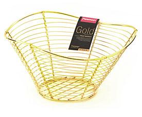 Корзинка для фруктов Gold Fissman 8936Кухонные аксессуары<br><br>