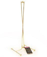 Подставка для бумажного полотенца Gold Fissman 8939Кухонные аксессуары<br><br>