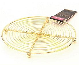 Подставка под горячее Gold Fissman 8942Кухонные аксессуары<br><br>