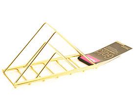 Подставка для салфеток Gold Fissman 8943Кухонные аксессуары<br><br>