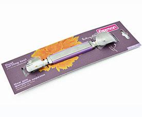 Нож для фигурной нарезки двухсторонний 3,4 / 2,4 см Fissman 8691Кухонные аксессуары<br><br>