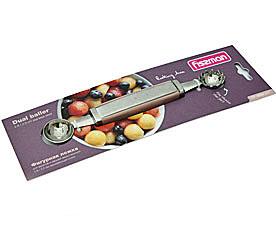 Фигурная ложка для фруктов и овощей двухсторонняя Fissman 8692Кухонные аксессуары<br><br>