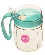 Бутылочка для масла 720 мл с пластиковой крышкой Fissman 9442Кухонные аксессуары<br><br>