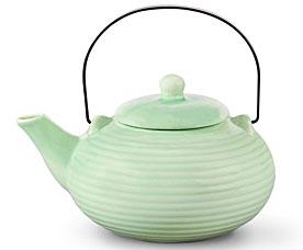 Заварочный чайник Зеленый 750 мл с ситечком Fissman 9348Чайники и термосы<br><br>