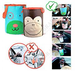 Корзина автомобильная для хранения ОБЕЗЬЯНКА Bradex DE 0242хранение вещей и игрушек<br><br>
