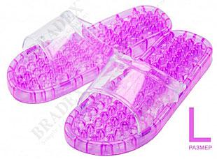 Тапочки массажные из силикона L Bradex KZ 0378Комфорт для ног<br><br>