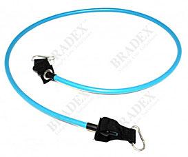 Эспандер трубчатый с карабинами, нагрузка до 11 кг, синий Bradex SF 0229Товары для фитнеса<br><br>