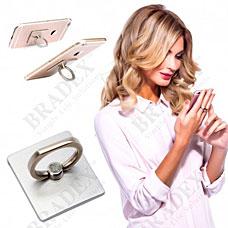 Кольцо-держатель и подставка для телефона и планшета, под серебро Bradex SU 0057Электроника<br><br>