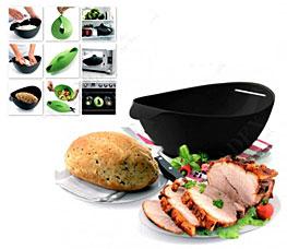 Форма силиконовая для выпечки и запекания, черная Bradex TK 0235Товары для выпечки<br><br>