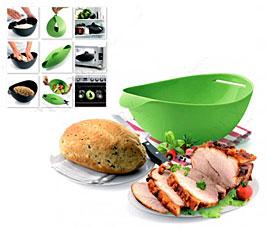 Форма силиконовая для выпечки и запекания, зеленая Bradex TK 0236Товары для выпечки<br><br>