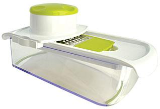 Многофункциональная механическая тёрка Regent inox 93-AC-GR-105 28х16х14 смИзмельчители кухонные<br><br>