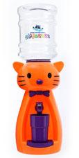 Детский кулер Акваняня Кошка ярко-оранжевая с фиолетовым арт. к-офгигиена и кормление<br><br>