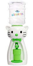Детский кулер Акваняня Кошка белая с салатовым арт. к-бсгигиена и кормление<br><br>