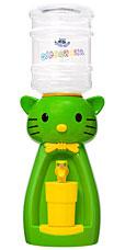 Детский кулер Акваняня Кошка салатовая с жёлтым арт. к-сзгигиена и кормление<br><br>