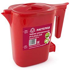 Чайник электрический Мастерица ЭЧ 0,5/0,5-220 рубинЧайники и кофеварки<br><br>