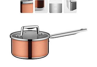 Ковш со стеклянной крышкой, 16 см/1,6 л Nadoba 726814наплитная посуда и аксессуары<br><br>