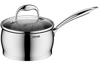 Ковш со стеклянной крышкой, 16 см/1,6 л Nadoba 726214наплитная посуда и аксессуары<br><br>