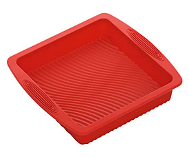 Форма для выпечки квадратная, силиконовая, 26x24x5 см Nadoba 762013формы для выпечки<br><br>