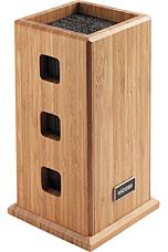 Универсальный блок для ножей, бамбук Nadoba 723212кухонные ножи и аксессуары<br><br>