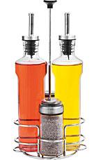 Набор бутылок для масла, уксуса и ёмкостей для специй, 5 пр. Nadoba 741015ёмкости для хранения<br><br>