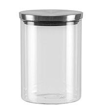 Ёмкость для сыпучих продуктов со стальной крышкой, 0,7 л Nadoba 741412ёмкости для хранения<br><br>