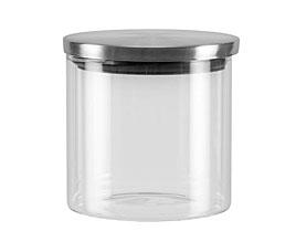 Ёмкость для сыпучих продуктов со стальной крышкой, 0,45 л Nadoba 741413ёмкости для хранения<br><br>