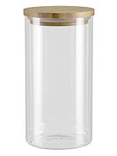 Ёмкость для сыпучих продуктов с крышкой из бамбука, 1 л Nadoba 741511ёмкости для хранения<br><br>