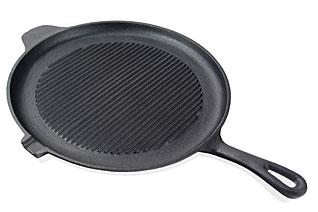 Круглая сковорода - гриль 28 х 2.0 см Fissman 4071Сковороды<br><br>