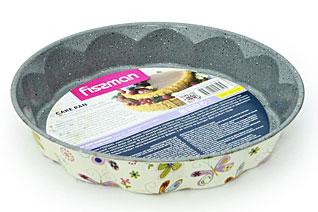 Форма для выпечки круглая 28 х 5 см с узором Fissman 5610Выпечка<br><br>
