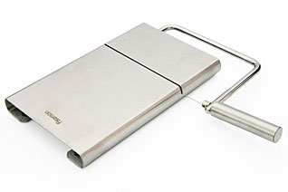 Нож для сыра со струной 13 см с доской Fissman 8679Кухонные аксессуары<br><br>
