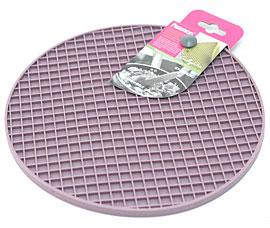 Силиконовый коврик круглый 20 см Fissman 7249Кухонные аксессуары<br><br>