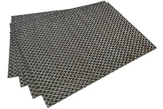 Комплект из 4-х сервировочных ковриков на обеденный стол 45 х 30 см Fissman 0646Кухонные аксессуары<br><br>