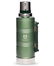 Термос Арктика с узким горлом американский дизайн 106-2200P зеленый, 2.2 лТермосы<br><br>