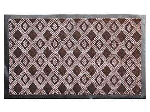 Коврик влаговпитывающий Hall 40x60см, коричневый Vortex 22397Все для бани<br><br>