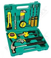Набор инструментов из 15 предметов в кейсе Bradex TD 0438Строительные инструменты<br><br>