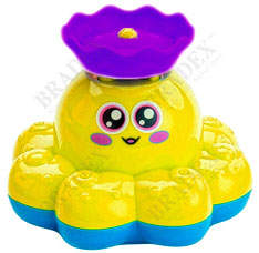 Игрушка детская для ванны Фонтан-осьминожка желтый Bradex DE 0248игрушки<br><br>