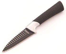 Овощной нож ONYX 8 см с рифленым лезвием Fissman 2339Ножи и столовые приборы<br><br>