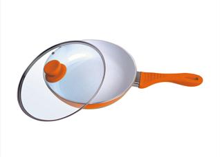 Сковорода с керамическим покрытием Frank Moller FM-754, диаметр 24 смКерамические сковороды<br><br>