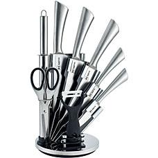 Набор ножей из нержавеющей стали на подставке Rainstahl RS\KN 8006-09 , 9 прНожи<br><br>