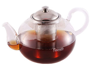 Заварочный чайник со стальным ситечком Viola 800 мл Fissman 9221Чайники и термосы<br><br>