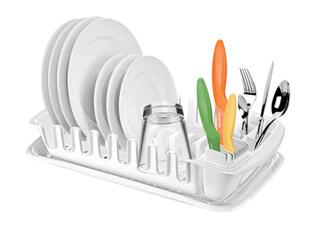 Сушилка с лотком Clean Kit, Tescoma 900644Организация и уборка кухни<br><br>