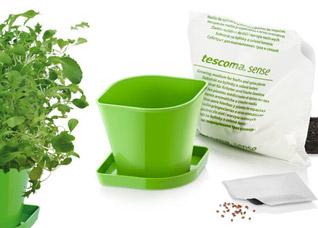Набор для выращ-ия пряных растений Sense, смесь, Tescoma 899090Организация и уборка кухни<br><br>