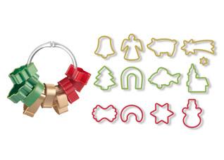 Формочки для рождественского печенья Delicia, 13шт., Tescoma 630902Выпечка<br><br>