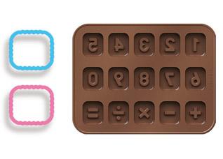 Формочки для шоколада Delicia Silicone, Tescoma 630966Выпечка<br><br>