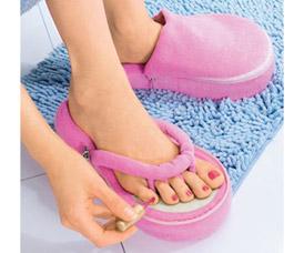 Тапочки педикюрные Педикюр Bradex с памятьюКомфорт для ног<br><br>