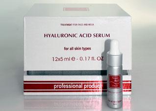 Сыворотка для лица с гиалуроновой кислотой, 12 ампул*5мл Beauty Style 505010Косметические средства<br><br>