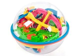 Игрушка-головоломка детская Шар-лабиринт Bradex DE 0033игрушки<br><br>